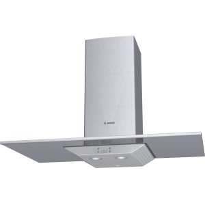 "Bosch36"" Wall Mount Chimney Hood 800 Series - Glass Canopy DKE9665PUC"
