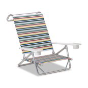 Beach and Pool Original Mini-Sun Chaise w/ MGP arms w/ cup holders