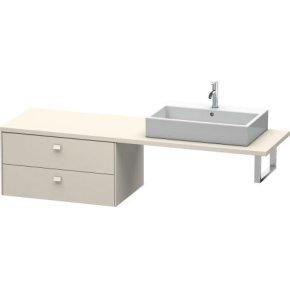 Brioso Low Cabinet For Console, Taupe Matt (decor)