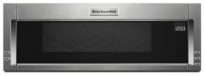 1000-Watt Low Profile Microwave Hood Combination with PrintShield Finish - Stainless Steel