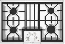 "30"" Gas Cooktop 500 Series White NGM5024UC"