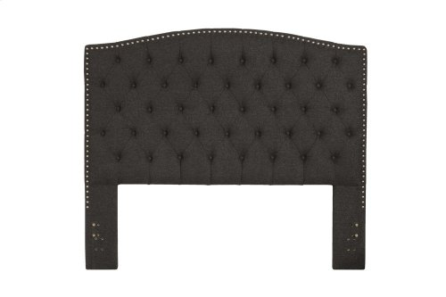 Lila King / California King Headboard - Onyx Linen