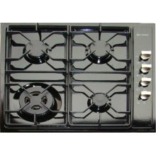 "Black 24"" Gas Cooktop"