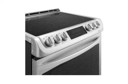 6.3 cu. ft. Electric Single Oven Slide-in Range with ProBake Convection® and EasyClean®