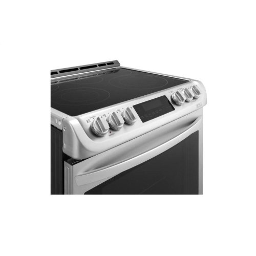 6.3 cu. ft. Electric Slide-in Range with ProBake Convection® and EasyClean®