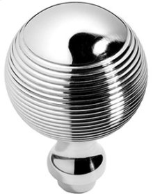 "Antique Brass Unlacquered Contour door knobs pair, 1 3/4"" diameter"