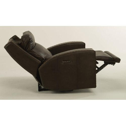 Archer Leather Power Gliding Recliner with Power Headrests