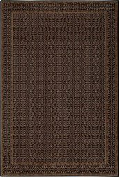 HARD TO FIND SIZES CHATEAU RM01 ONYX RECTANGLE RUG 6' x 9'