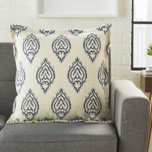 "Life Styles Dl561 Indigo 20"" X 20"" Throw Pillows"