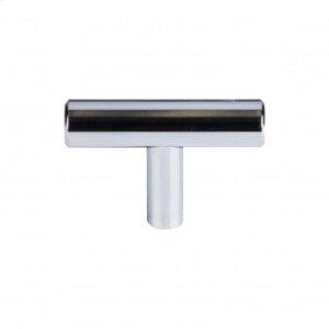 Hopewell T-Handle 2 Inch - Polished Chrome