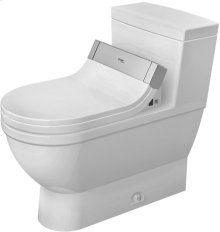 White Starck 3 One-piece Toilet For Sensowash®