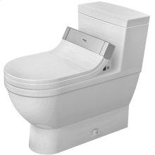 White Starck 3 One-piece Toilet For Sensowash®