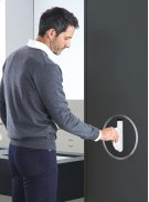Build-in tissue dispenser - Grey Product Image