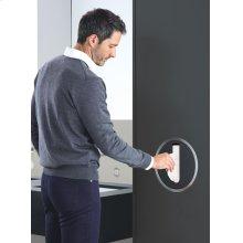 Build-in tissue dispenser - Grey