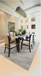 CAPELLE CPEL1 SIL RECTANGLE RUG 8' x 10'