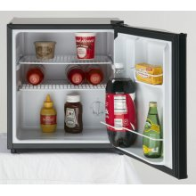 1.7 CF All Refrigerator - Black