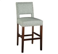 Locke Bar Stool with Nailheads Product Image