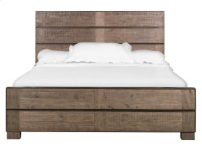 Complete King Metal/Wood Panel Bed