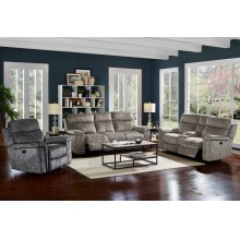 Gannon Dual Recliner Console Loveseat