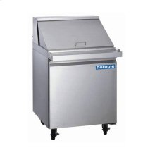 1 Door Stainless Steel Mega Top Sandwich/Salad Prep Table