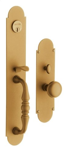 Vintage Brass Lancaster Entrance Trim