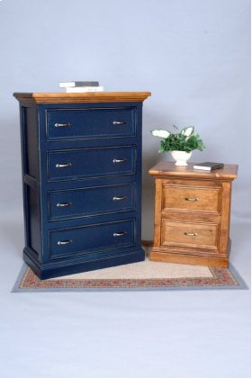 """#405 Williamsburg Chest of Drawers 34""""wx18.5""""dx49.5""""h"""
