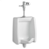 Washbrook 0.5 gpf Washout Top Spud Urinal with Manual Flush Valve - White
