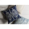 """Leah LAH-004 18"""" x 18"""" Pillow Shell with Down Insert"""