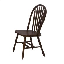 DLU-820-CT-2  Andrews Arrowback Dining Chair  Chestnut  Set of 2