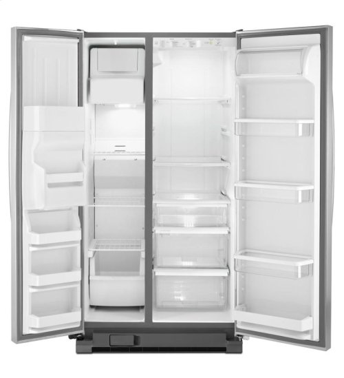 25 cu. ft. Large Side-by-Side Refrigerator with Greater Capacity and Temperature Control