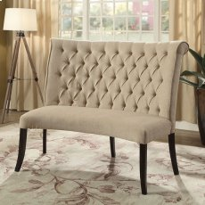 Nerissa Round Love Seat Bench Product Image