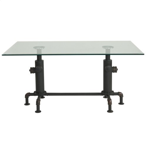 Bronx Dining Table in Antique Black