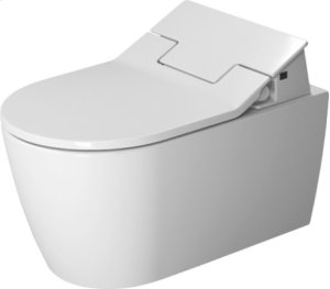 White Me By Starck Toilet Wall-mounted Duravit Rimless For Sensowash®