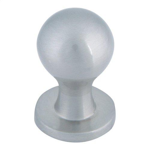 Nipple Knob 3/4 Inch - Brushed Nickel