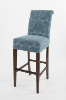 "Roll Back 30"" barstools have a seat height of 30"" when measured"