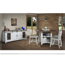Pueblo White Pub Dining Collection
