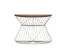 Sofa Table-wood Top-metal Base