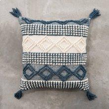 Teal Joslin Pillow - Large