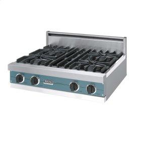 "Iridescent Blue 30"" Open Burner Rangetop - VGRT (30"" wide, four burners)"