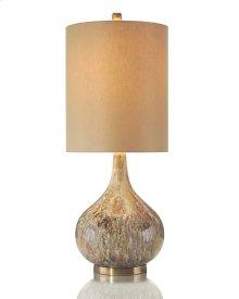 Drip Glaze Squattie Lamp