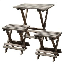 S/3 Table&Chairs