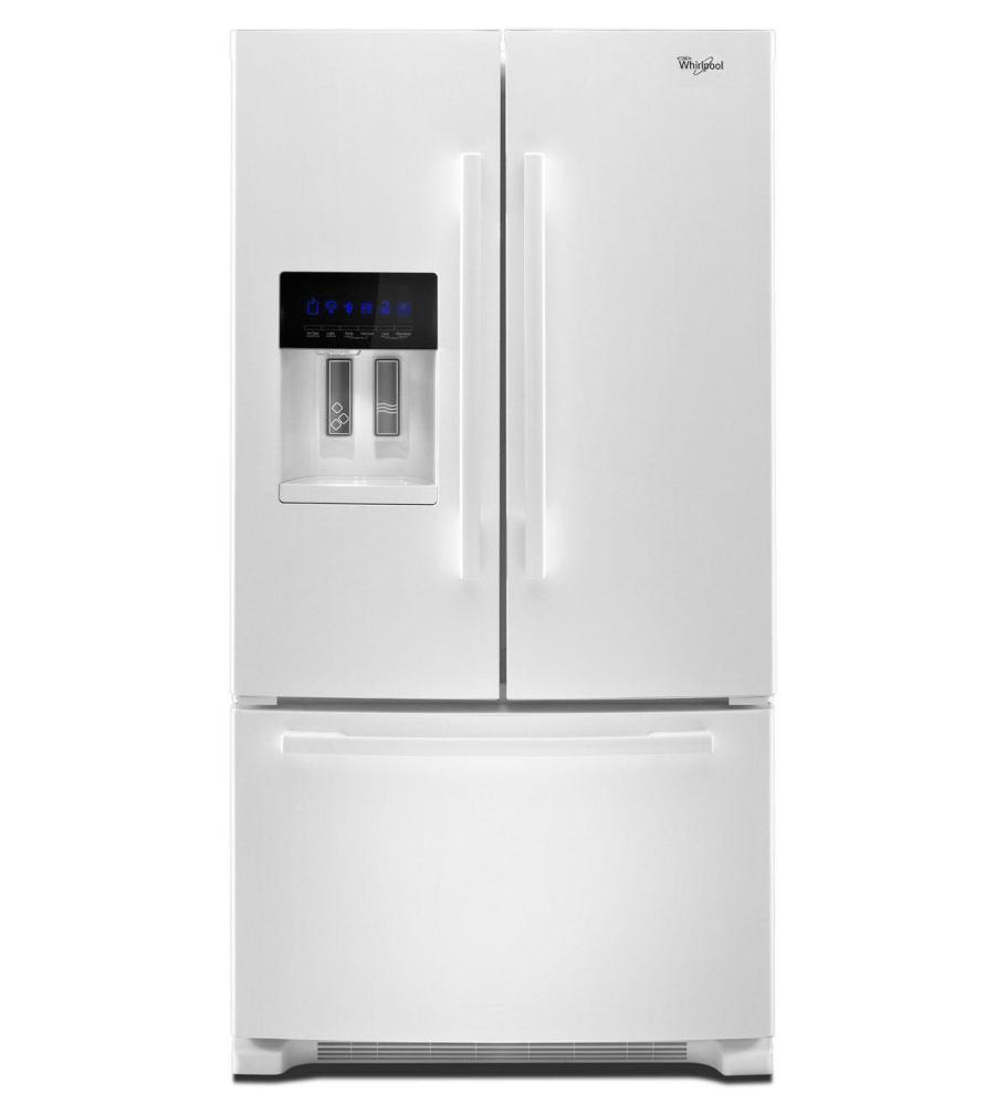 French Door Refrigerator with Accu-Chill  sc 1 st  Schumacheru0027s Appliances & GI6FDRXXY in Monochromatic Stainless Steel by Whirlpool in Glendale ...