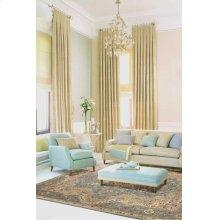 Kathy Ireland® Home Antiquities Ant06 Slate Blue