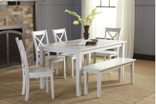Simplicity X Back Dining Chair - Dove