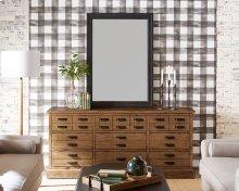 Hardware Shop Dresser with Mathilda Floor Lamp