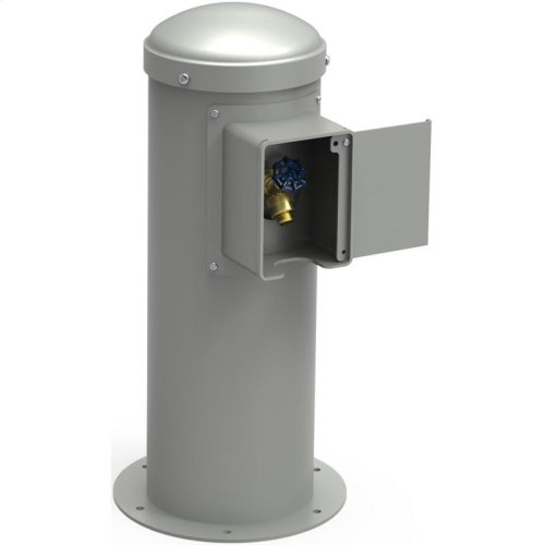 Elkay Yard Hydrant with Locking Hose Bib Non-Filtered, Non-Refrigerated Gray