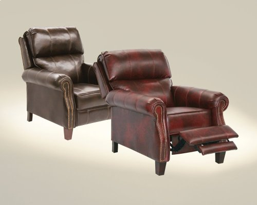 Reclining Chair w/Extended Ottoman - Java