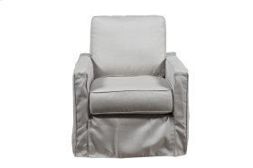 SLIP COVER SWIVEL CHAIR