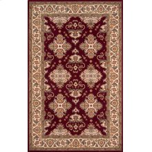 Persian Garden Pg-01 Burgundy - 2.6 x 8.0 Runner
