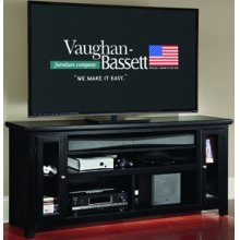 "66"" Sound Bar Media Center"